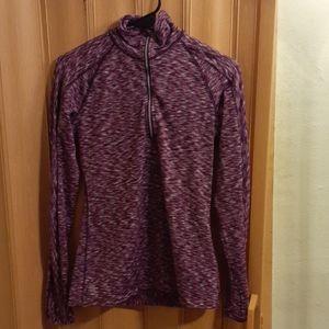 Athleta super soft purple pullover